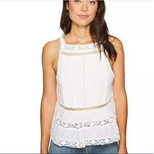 Free People Constant Crush White Tank